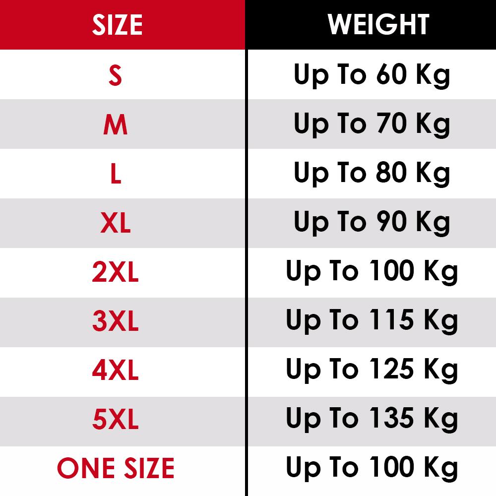 Size Chart | جدول المقاسات
